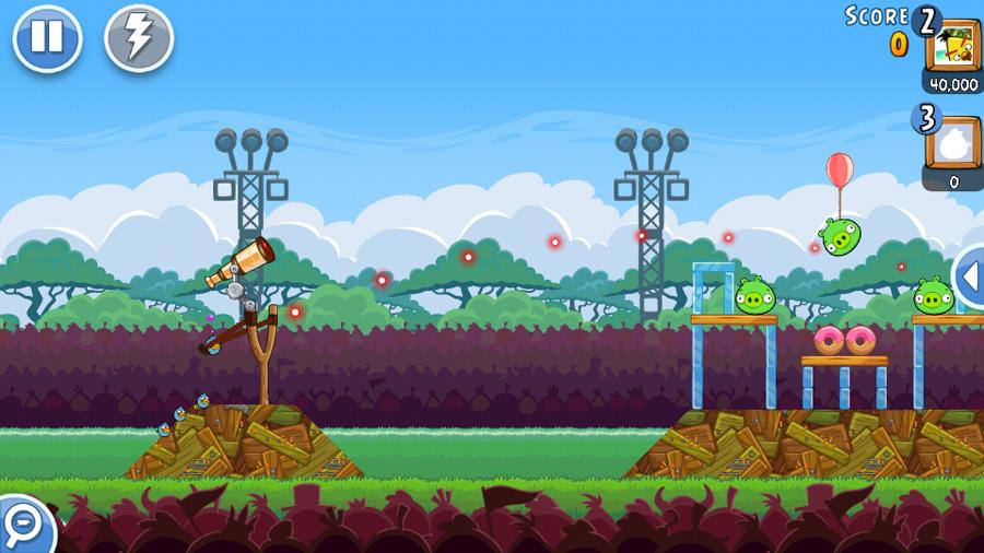 Angry Birds Friends скачать