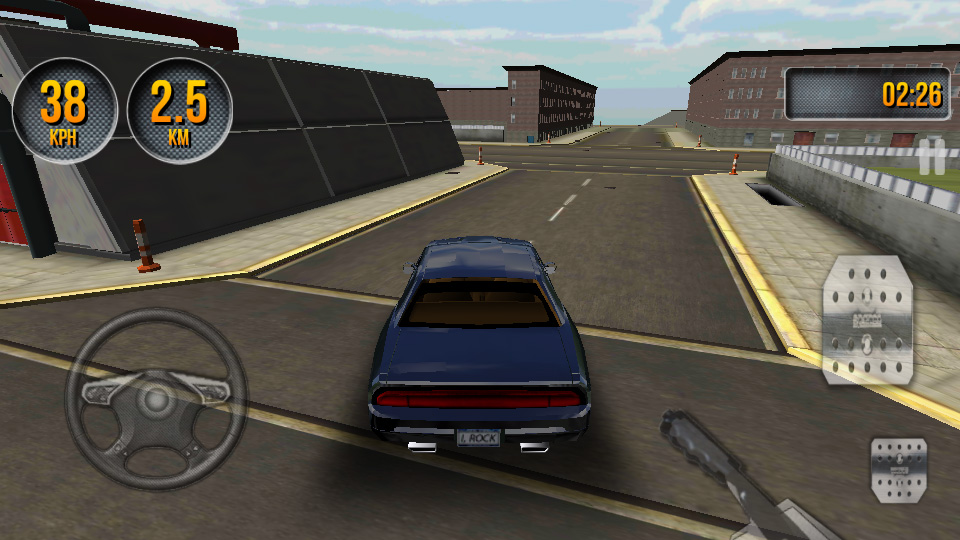Car Simulator 3D 2014 на андроид