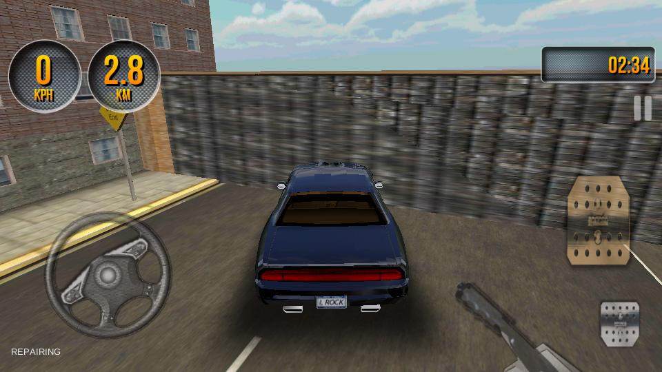 Car Simulator 3D 2014 на телефон