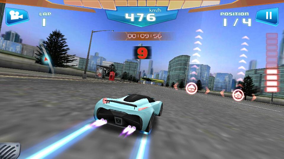 Fast Racing на андроид