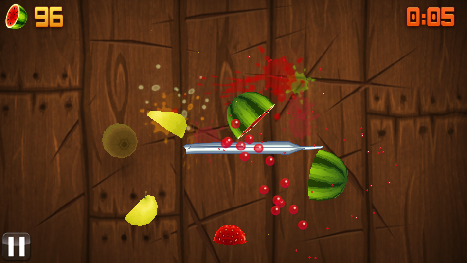 Fruit Ninja на андроид