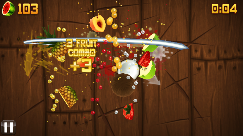 Fruit Ninja для Android - YouTube