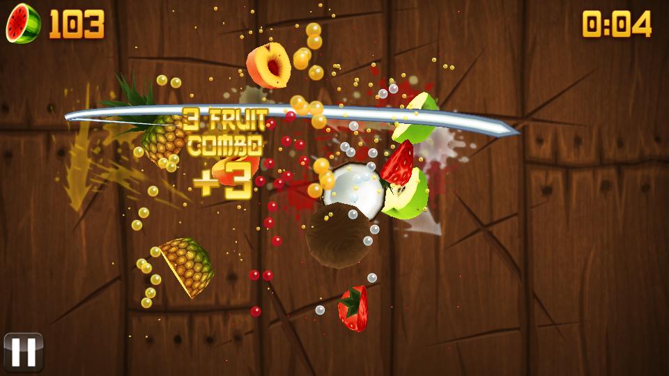 Fruit Ninja на телефон