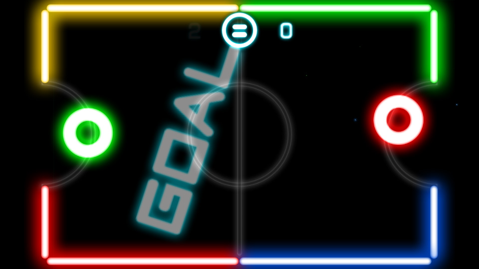 Glow Hockey на андроид