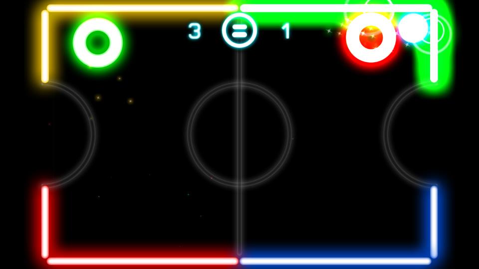 Glow Hockey скачать