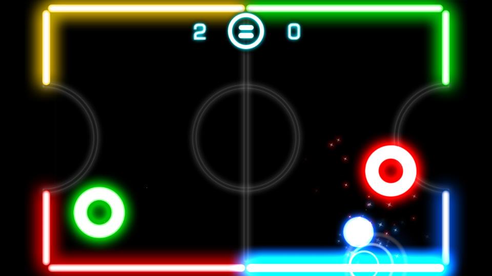 Glow Hockey на телефон