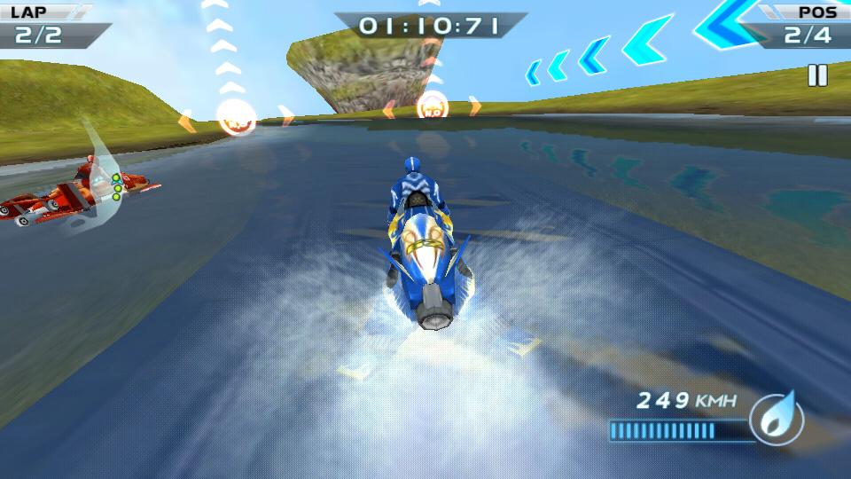 Гонки водных мотоциклов 3D скачать
