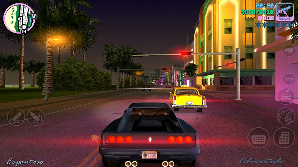 Grand Theft Auto: Vice City на телефон