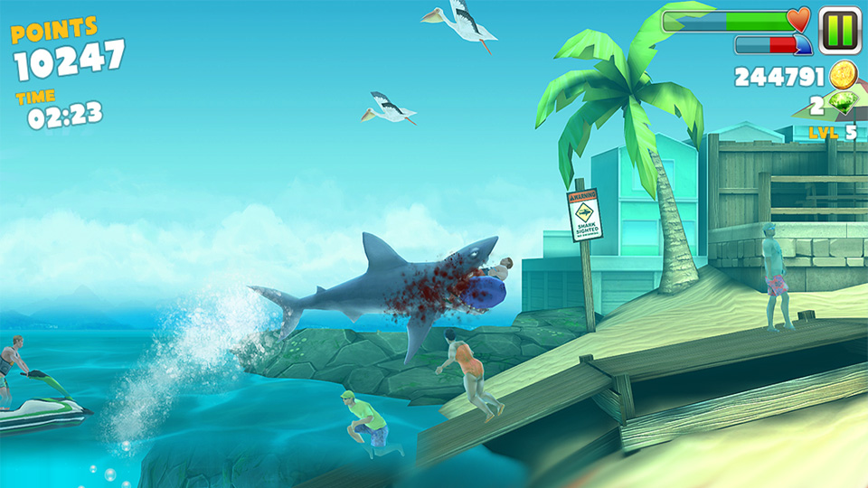 Hungry Shark Evolution на телефон