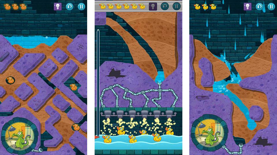Крокодильчик Свомпи 2 на андроид