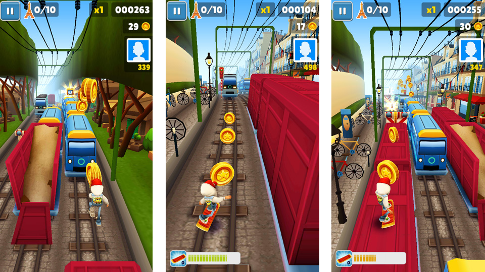 Subway Surfers на телефон