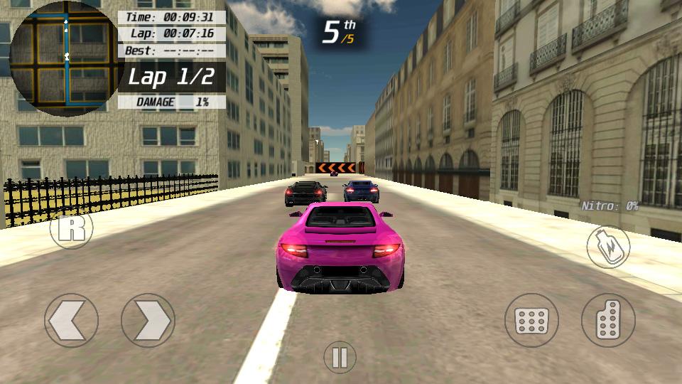 3D Street Racing 2 на андроид