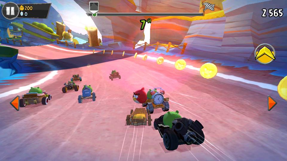 Angry Birds Go! на андроид