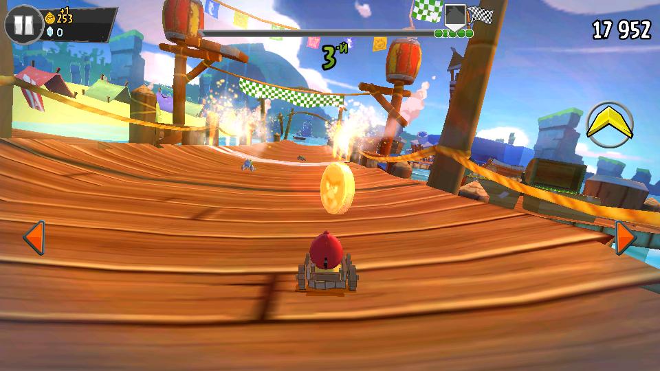 Angry Birds Go! на телефон