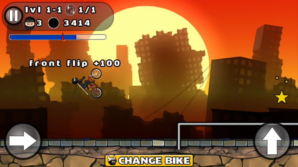 BMX Stunts на андроид