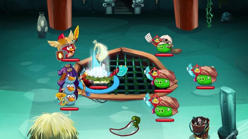 Angry Birds Epic на андроид