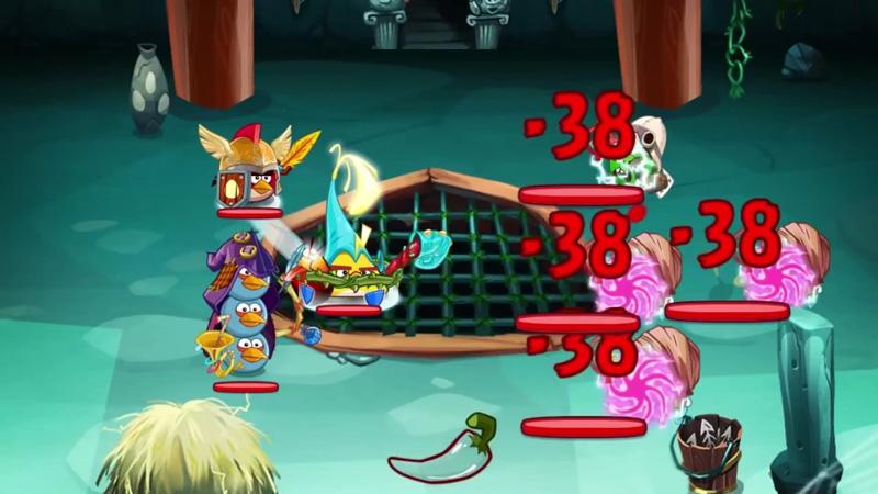 Angry Birds Epic на телефон