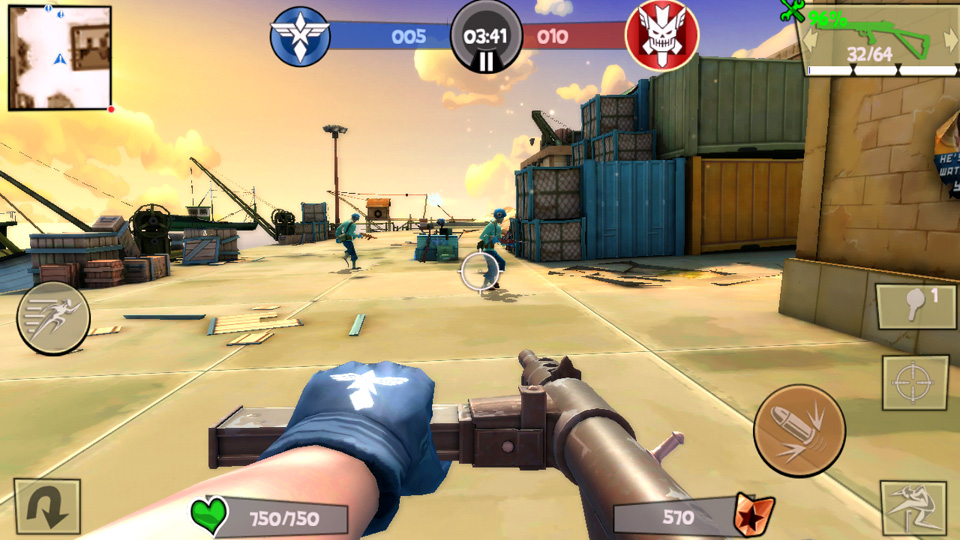 Blitz Brigade - онлайн угар! на андроид
