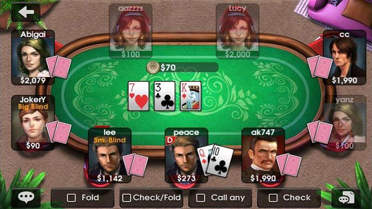 DH Texas Poker на андроид