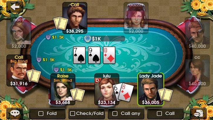 DH Texas Poker на телефон