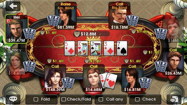 DH Texas Poker скачать