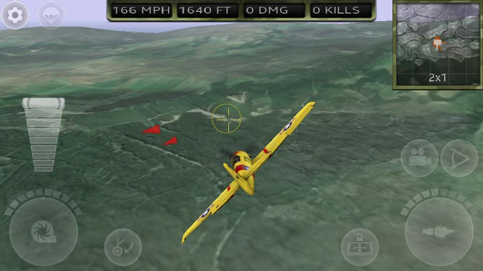 FighterWing 2 Flight Simulator на андроид