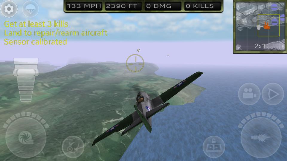 FighterWing 2 Flight Simulator на телефон