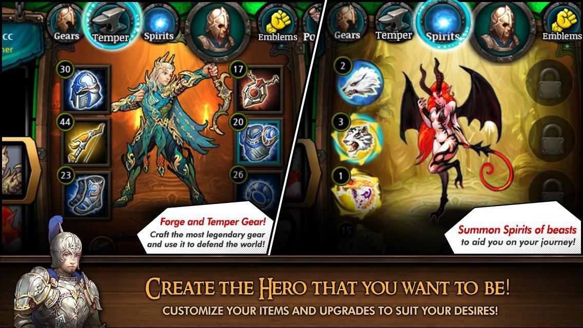 Heroes of Atlan на андроид