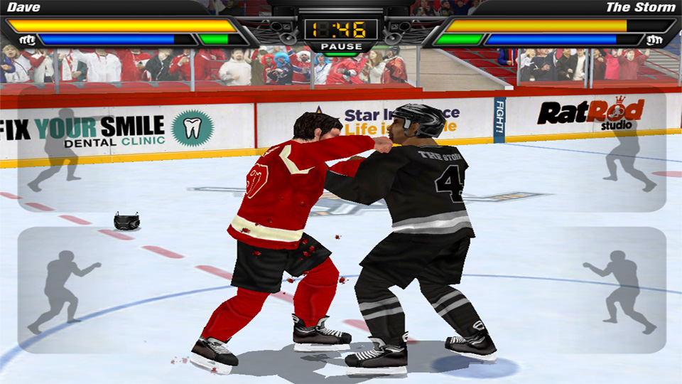 Hockey Fight Pro на андроид
