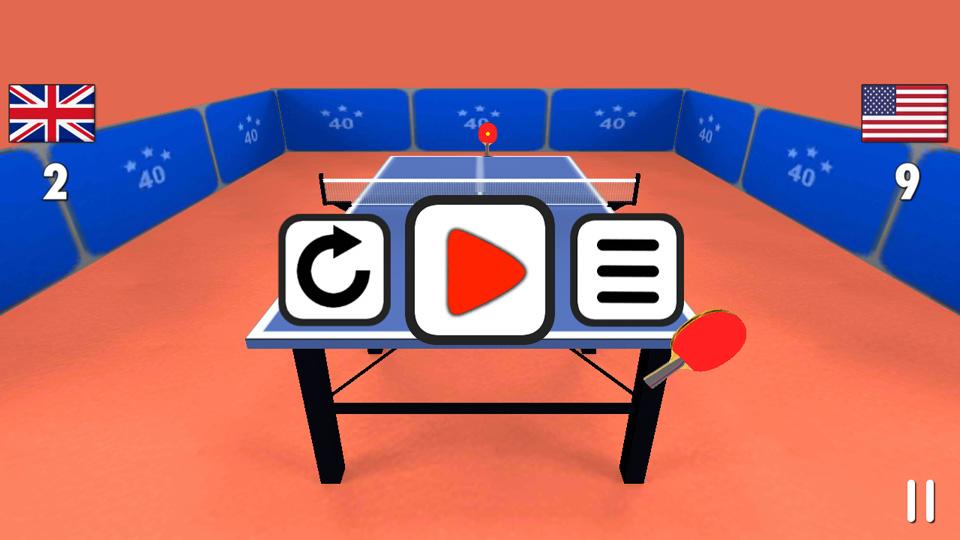Настольный теннис 3D скачать