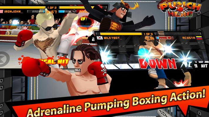 Punch Hero на андроид