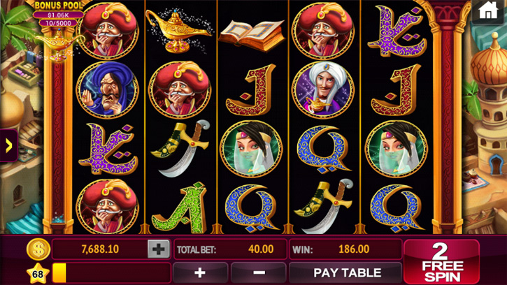 slots casino party