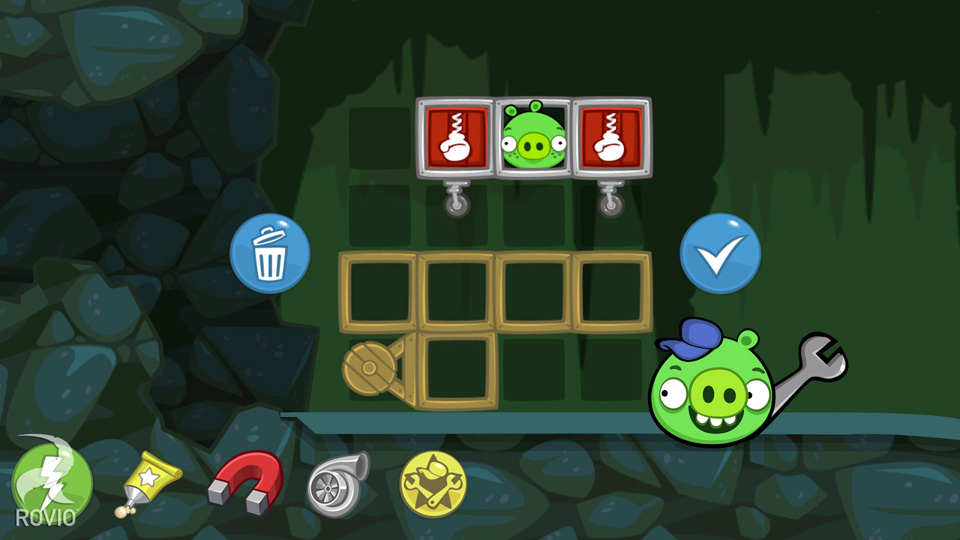 Bad Piggies на телефон