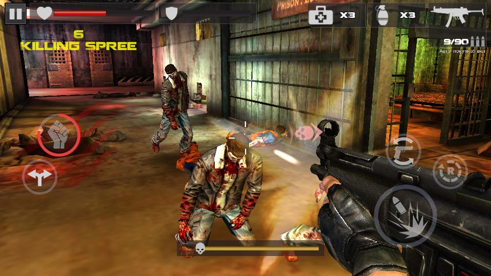 Dead Target: Zombie на андроид