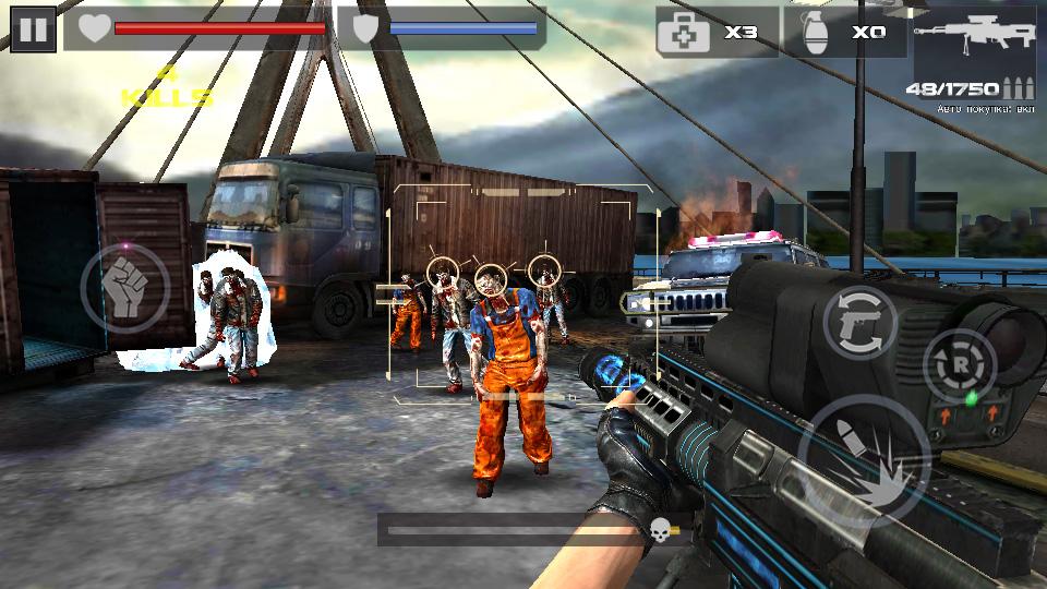 Dead Target: Zombie на телефон