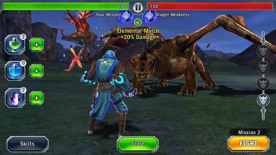 Dragon Slayer на телефон