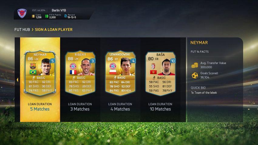 FIFA 15 Ultimate Team скачать