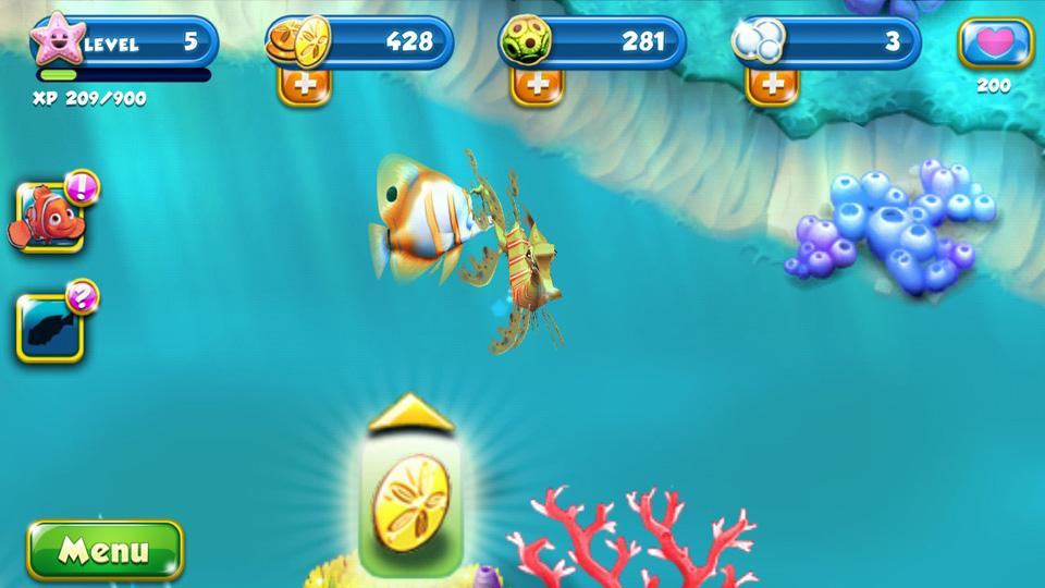 Немо. Подводный мир на телефон