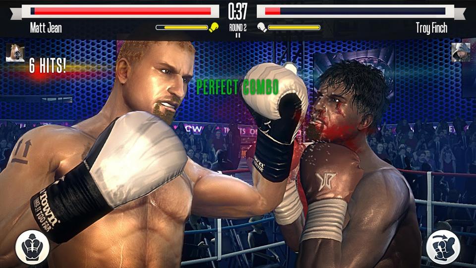Real Boxing на андроид