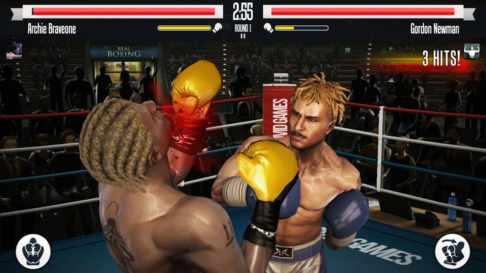 Real Boxing на телефон