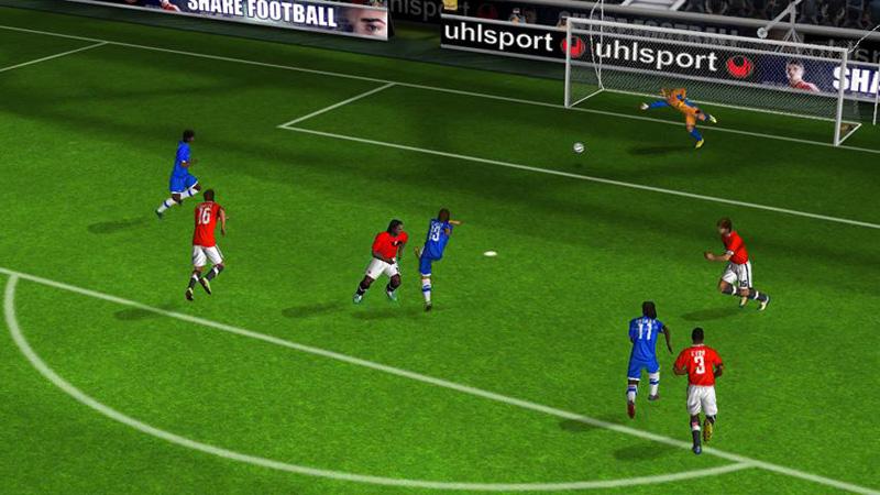 Real Football 2012 на телефон