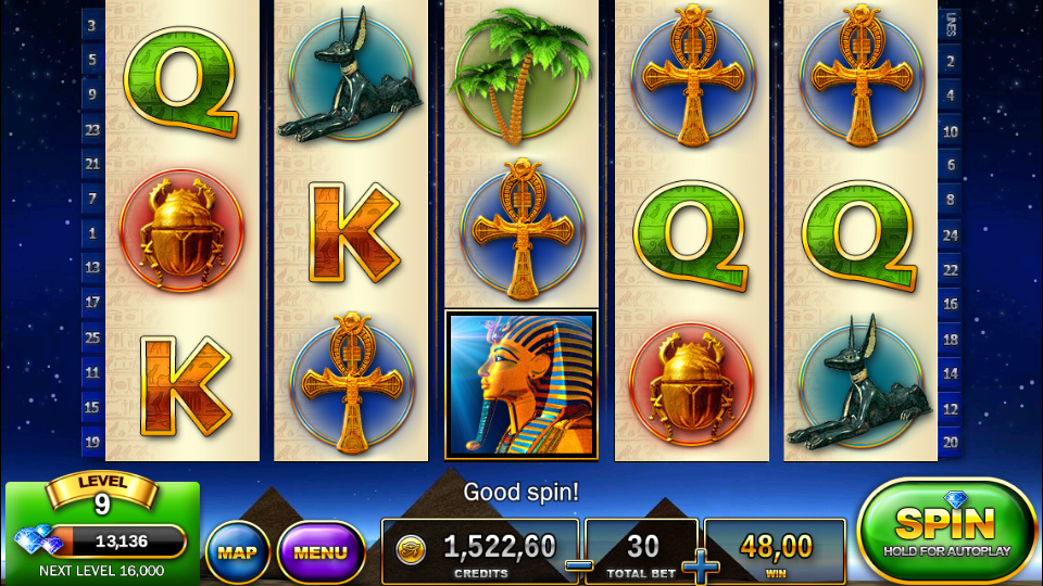 Slots - Pharaohs Way на андроид