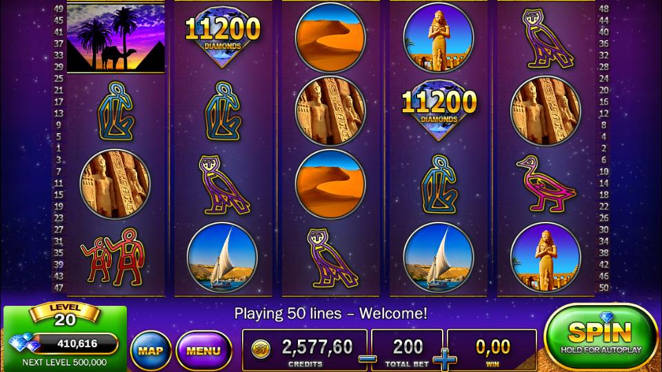 Slots - Pharaohs Way на телефон