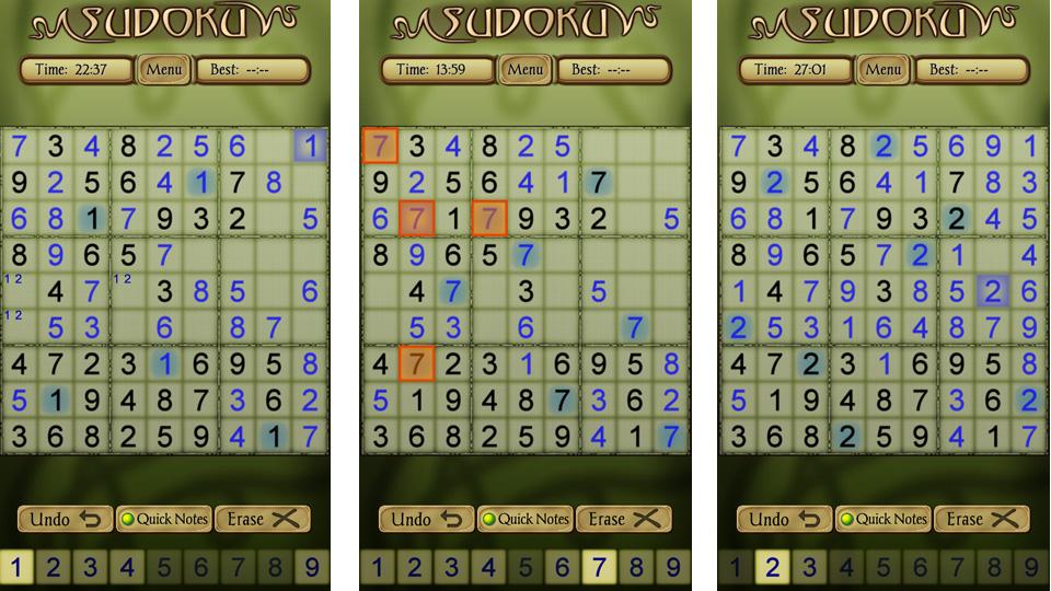 Sudoku Free на андроид
