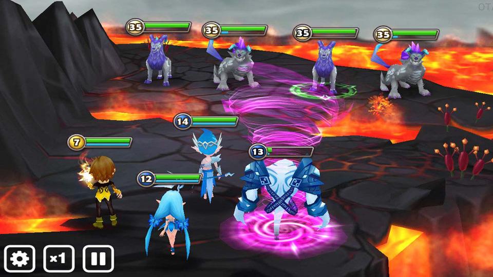 Summoners War: Sky Arena на андроид