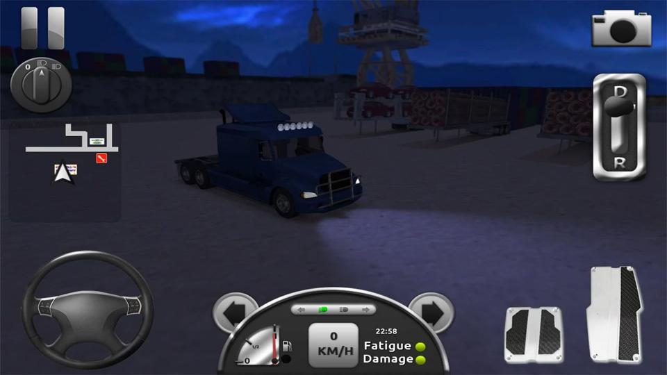 Truck Simulator 3D на андроид