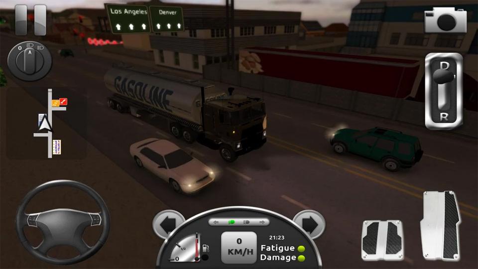 Truck Simulator 3D на телефон