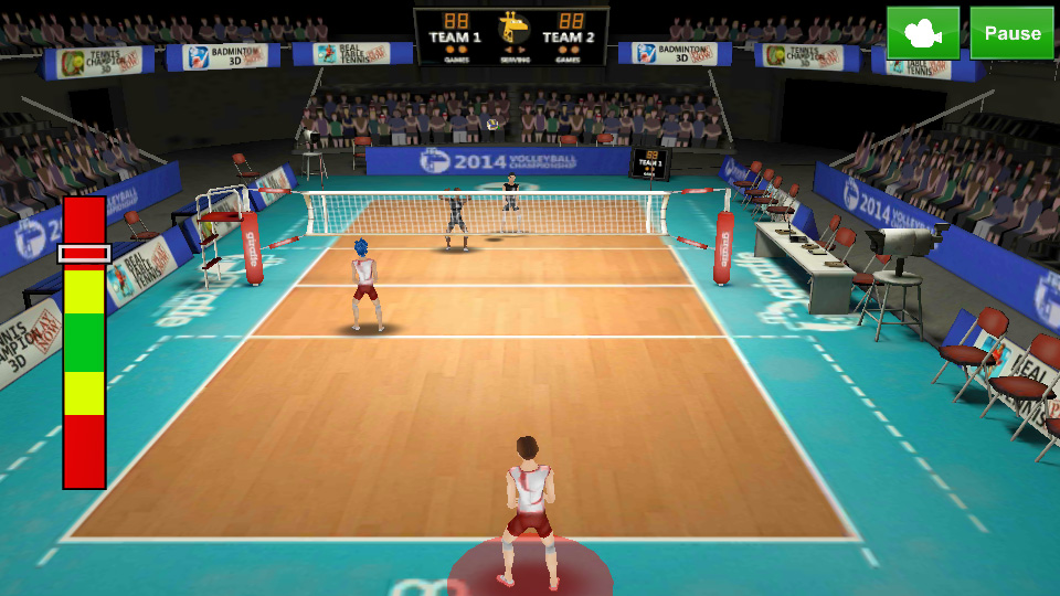 Volleyball Champions 3D 2014 на андроид