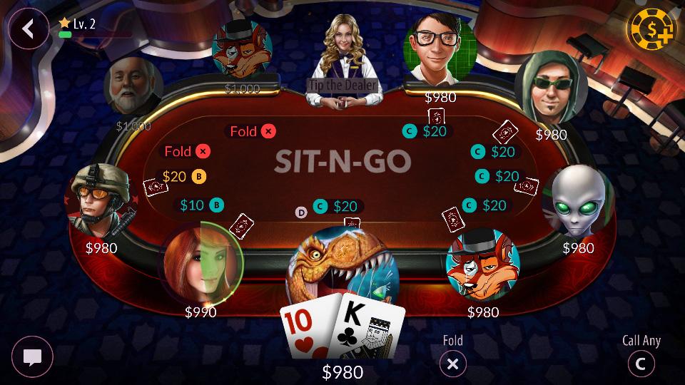 Zynga Poker – Texas Holdem скачать