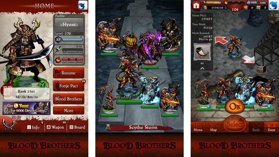 Blood Brothers на андроид